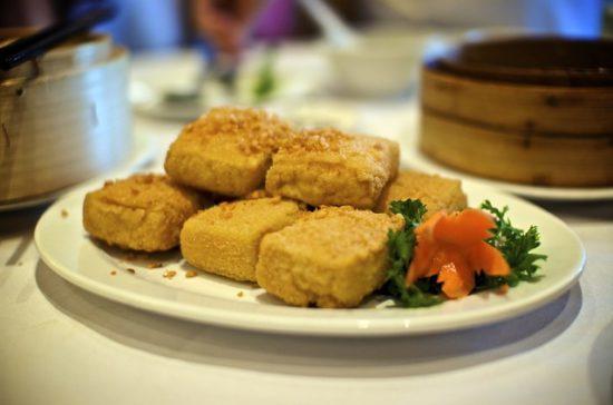 Crunchy tofu tenders