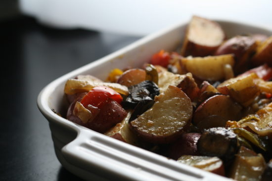 Roasted home fries