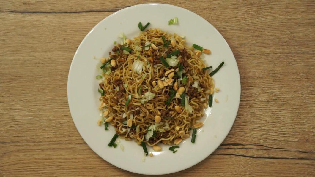 Easy dragon noodles