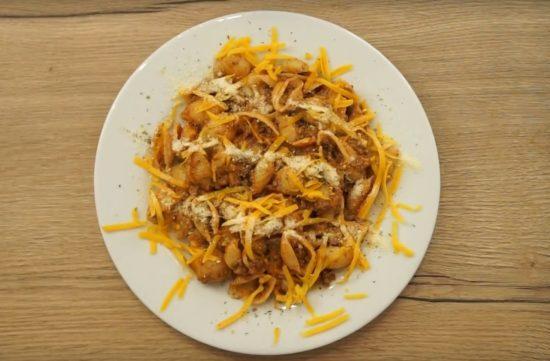 Weeknigh taco pasta